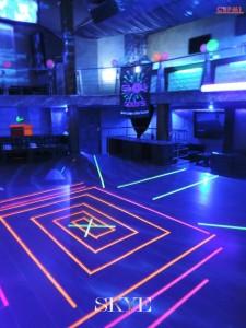 Dancefloor : soirée étudiante fluo