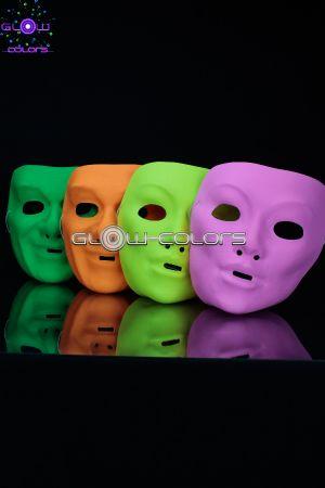 Masques fluo pour Nouvel An fluo