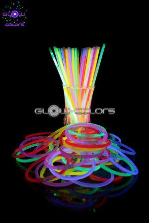 Bracelets lumineux fluorescent - Glow Colors